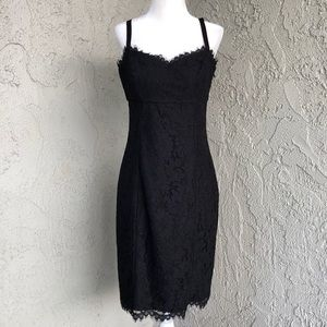 Ted Baker London Black Lace Valarie Dress